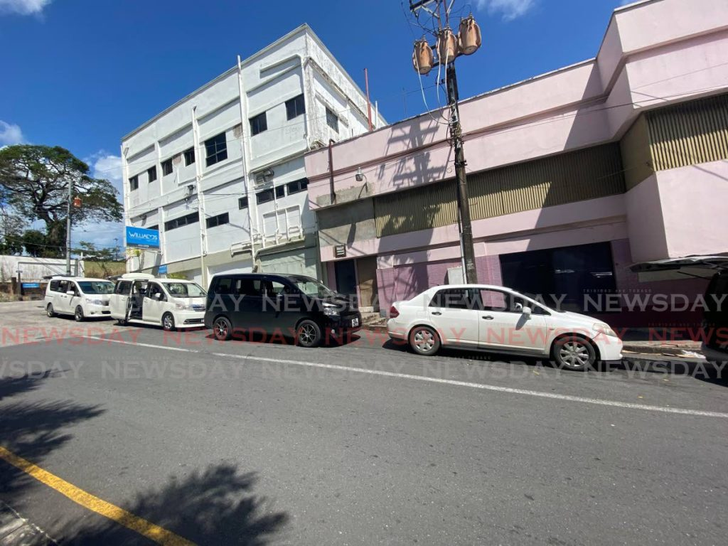 The Point Fortin and Siparia taxi stands in San Fernando. - Narissa Fraser