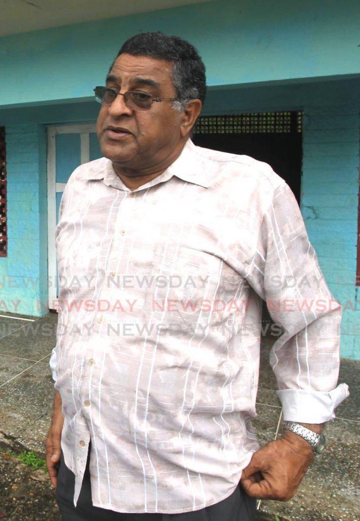 File photo: Local government councillor Martin 'Terry' Rondon.