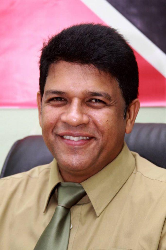 St Augustine MP Prakash Ramadhar -