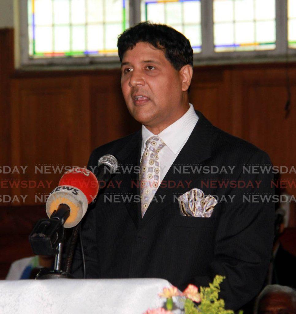 High Court judge and Prebyterian lay preacher Frank Seepersad. FILE PHOTO  -