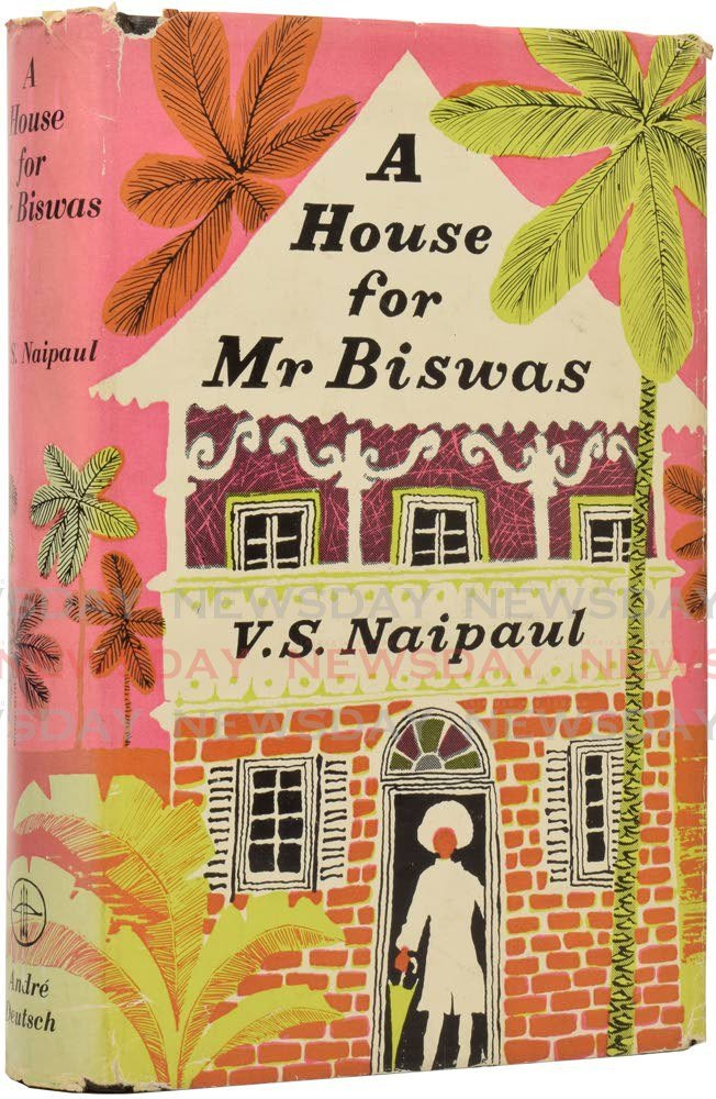 A House for Mr Biswas by VS Naipaul was among the BBC's list of 100 Books That Shaped Our World in 2019. The Bocas List Fest is compiling a similar list: 100 Caribbean Books That Made US and wants the public to nominate their favourite books. -