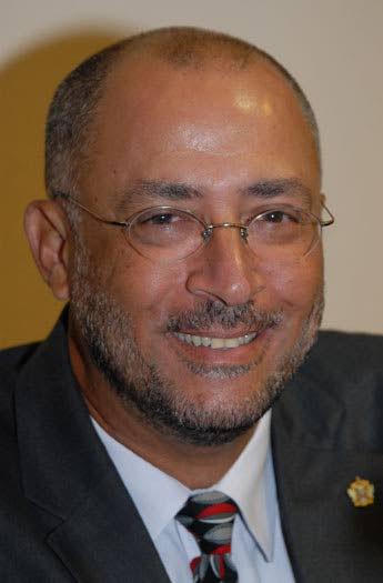 Cricket West Indies president Ricky Skerritt. - CWI Media