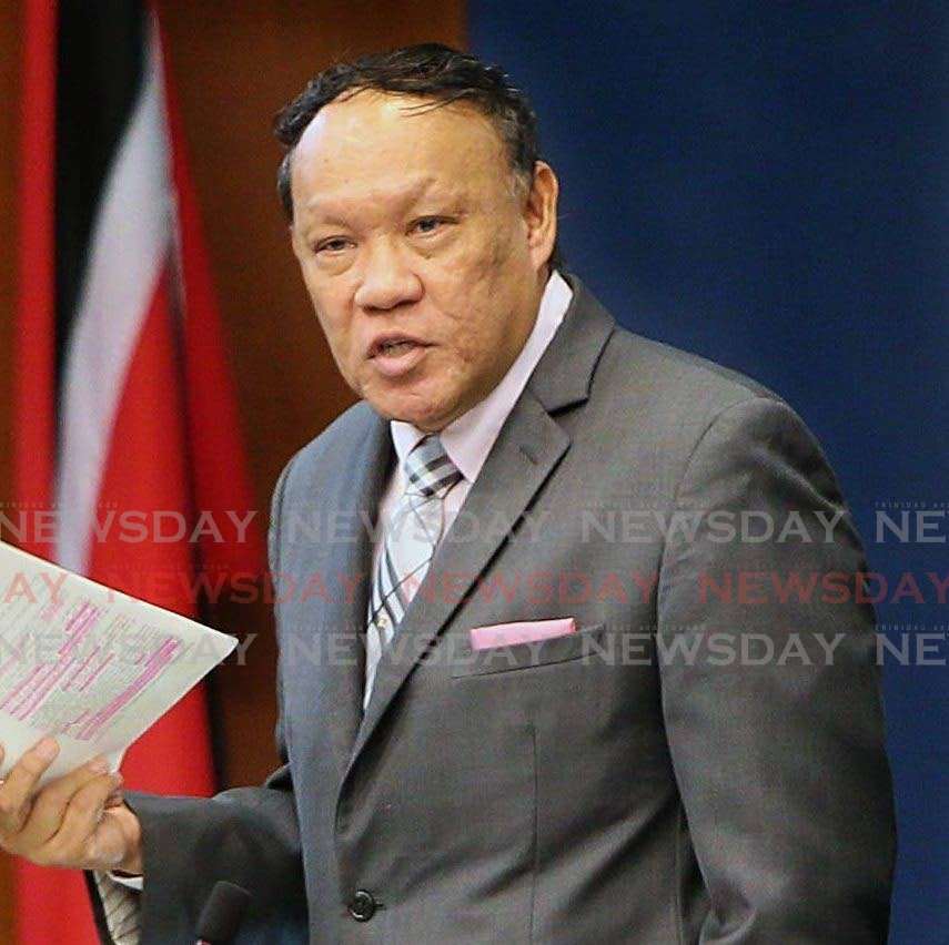 Opposition MP for Pointe-a-Pierre David Lee