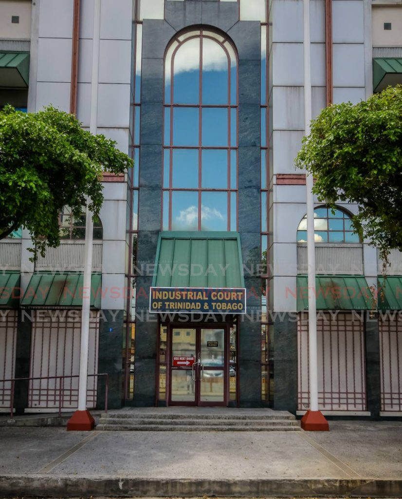 The Industrial Court on St Vincent Street, Port of Spain. - JEFF K MAYERS