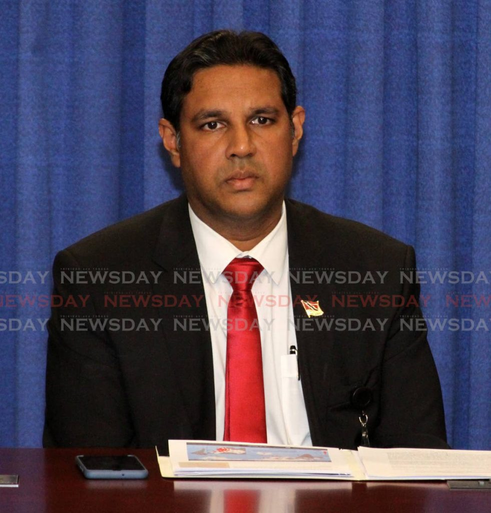 Chief Medical Officer (CMO) Dr Roshan Parasram.  -