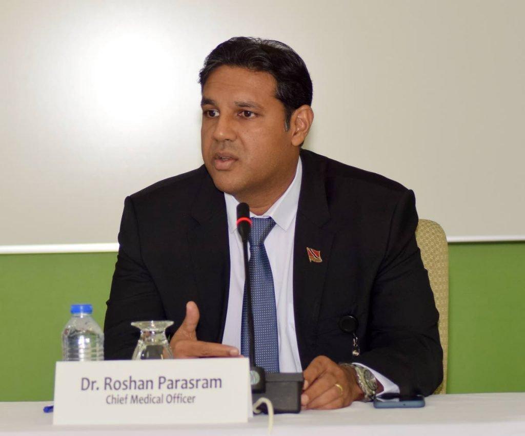 CMO Dr Roshan Parasram -