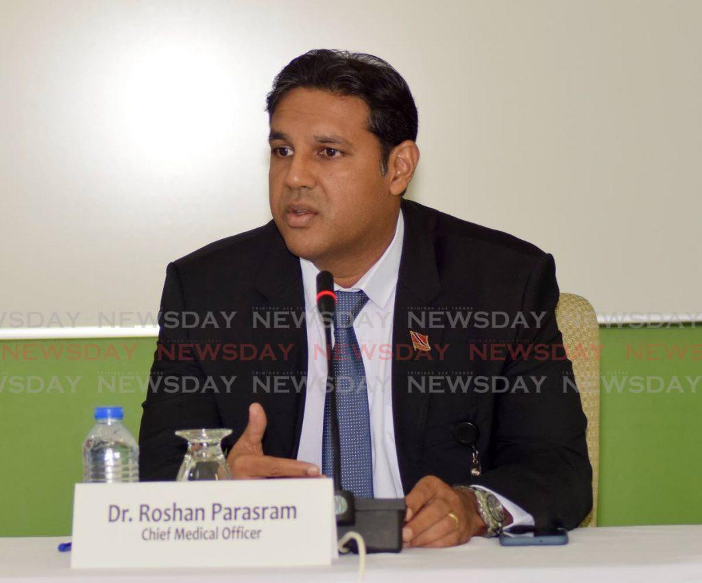 Chief Medical Officer - Dr Roshan Parasram