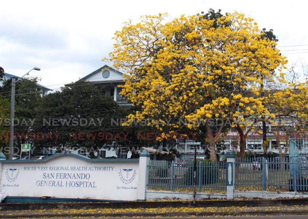 File photo of San Fernando General Hospital
