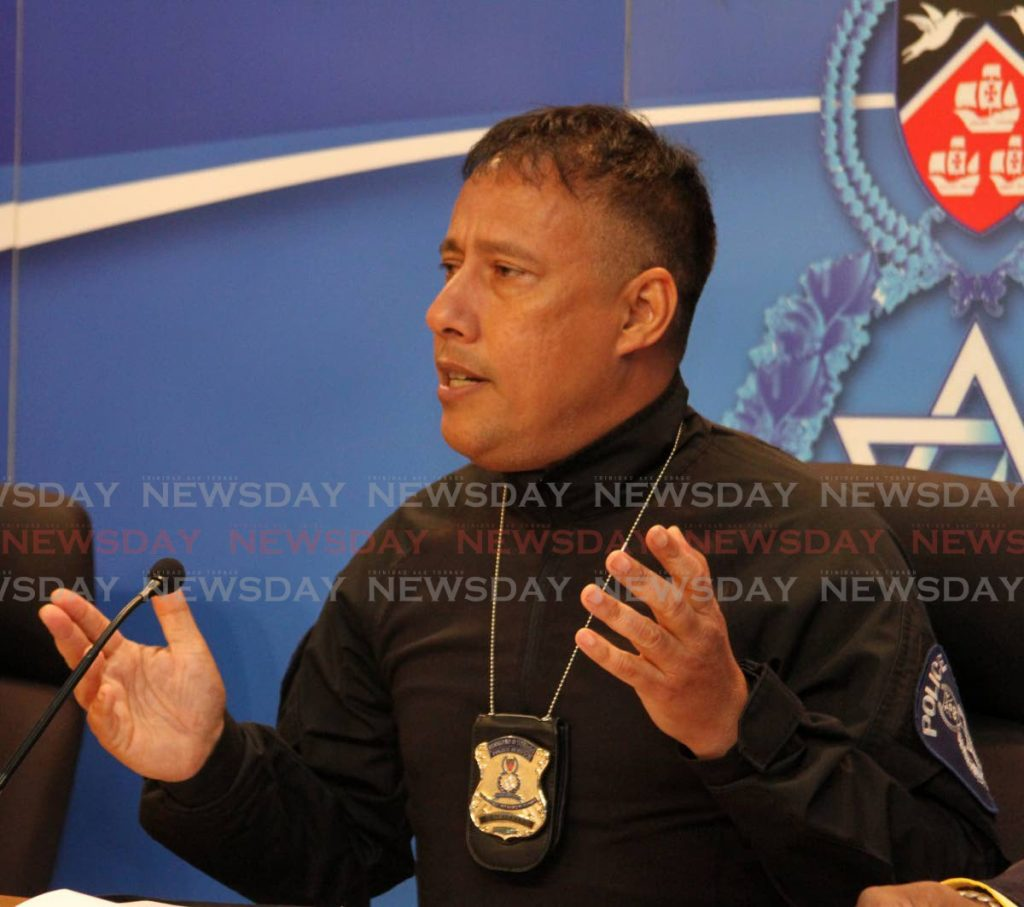 Commissioner of Police, Gary Griffith. -