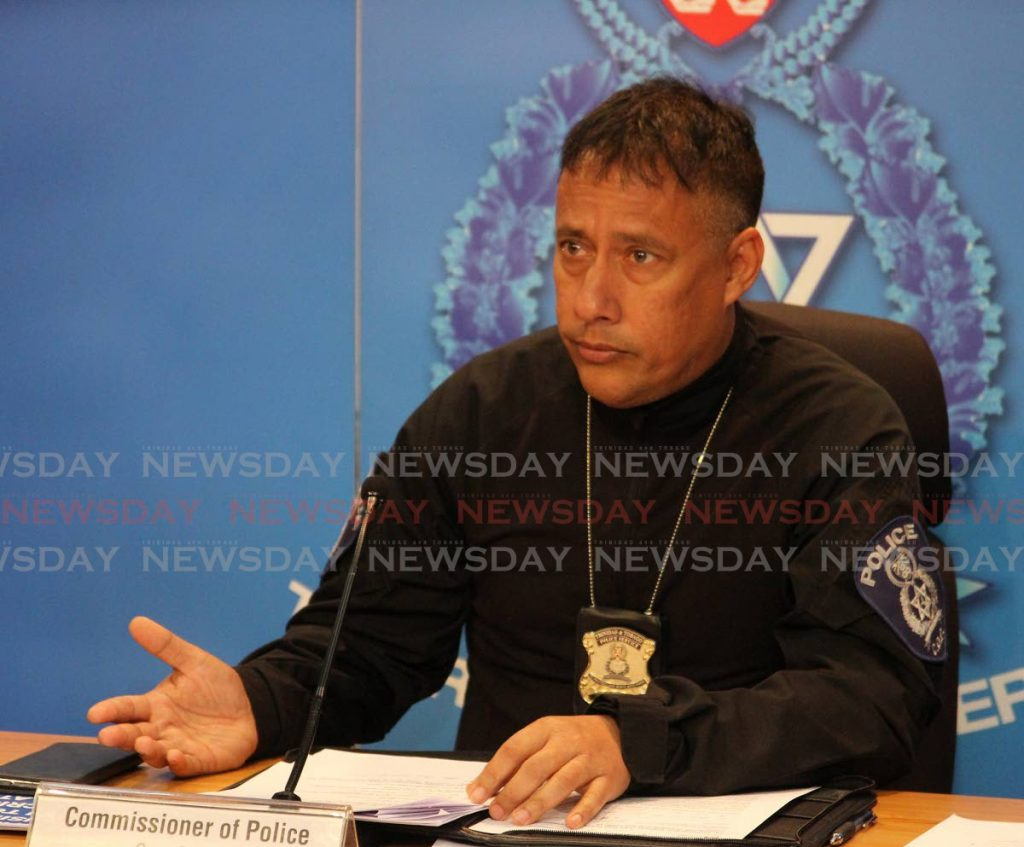 Commissioner of Police Gary Griffith -
