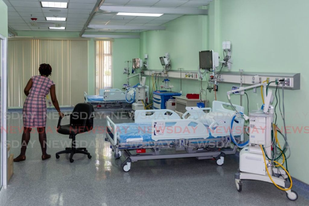One of the areas in the intensive care unit at the Scarborough General Hospital for covid19 patients.   - DAVID REID