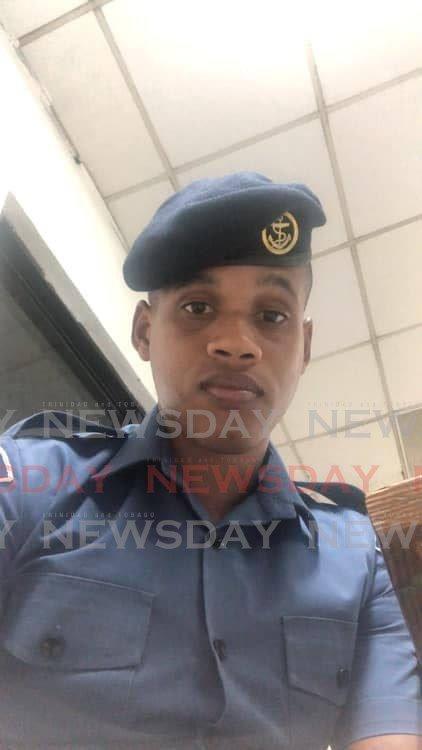 SHOT DEAD: Coast Guardsman Gyasi Richardson. -