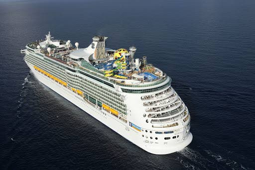 File photo of a cruise liner belonging to Royal Caribbean Cruises.
