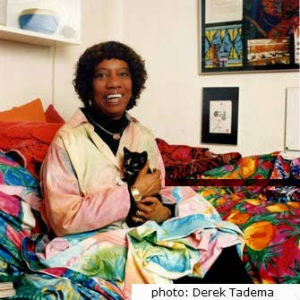 Textile designer Althea McNish died on April 16 In a nursing home in London.  -