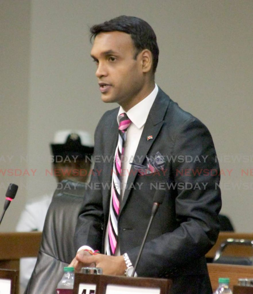 MP for Princes Town Barry Padarath. -