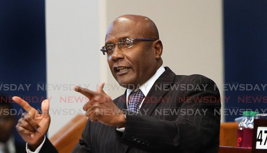 MP for Naparima, Rodney Charles. -