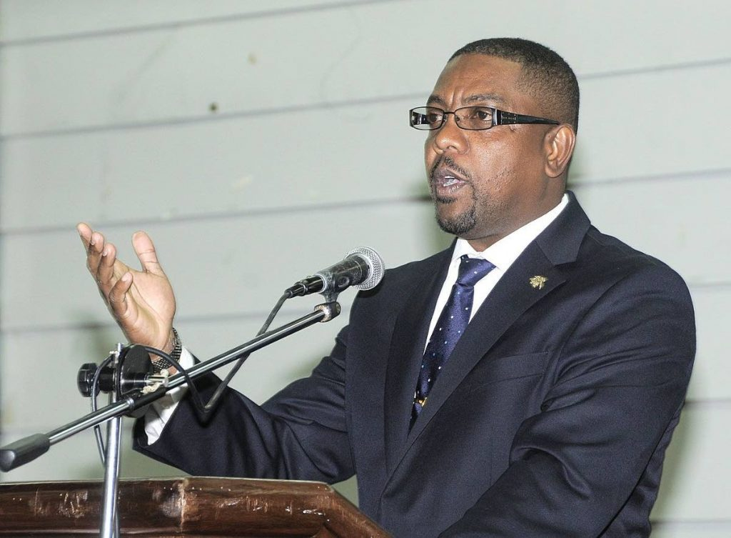 Former Cricket West Indies president Dave Cameron -
