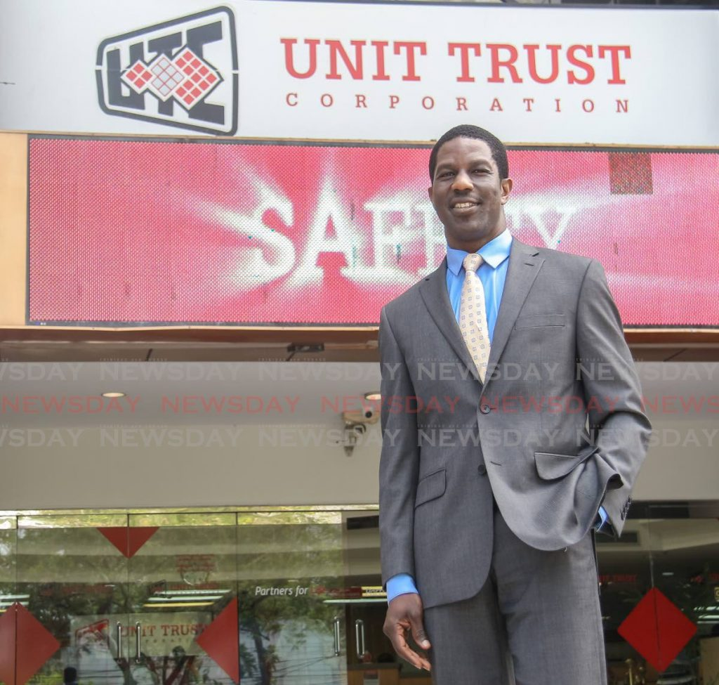 Nigel Edwards, executive director of the Unit Trust Corporation. - FILE PHOTO
