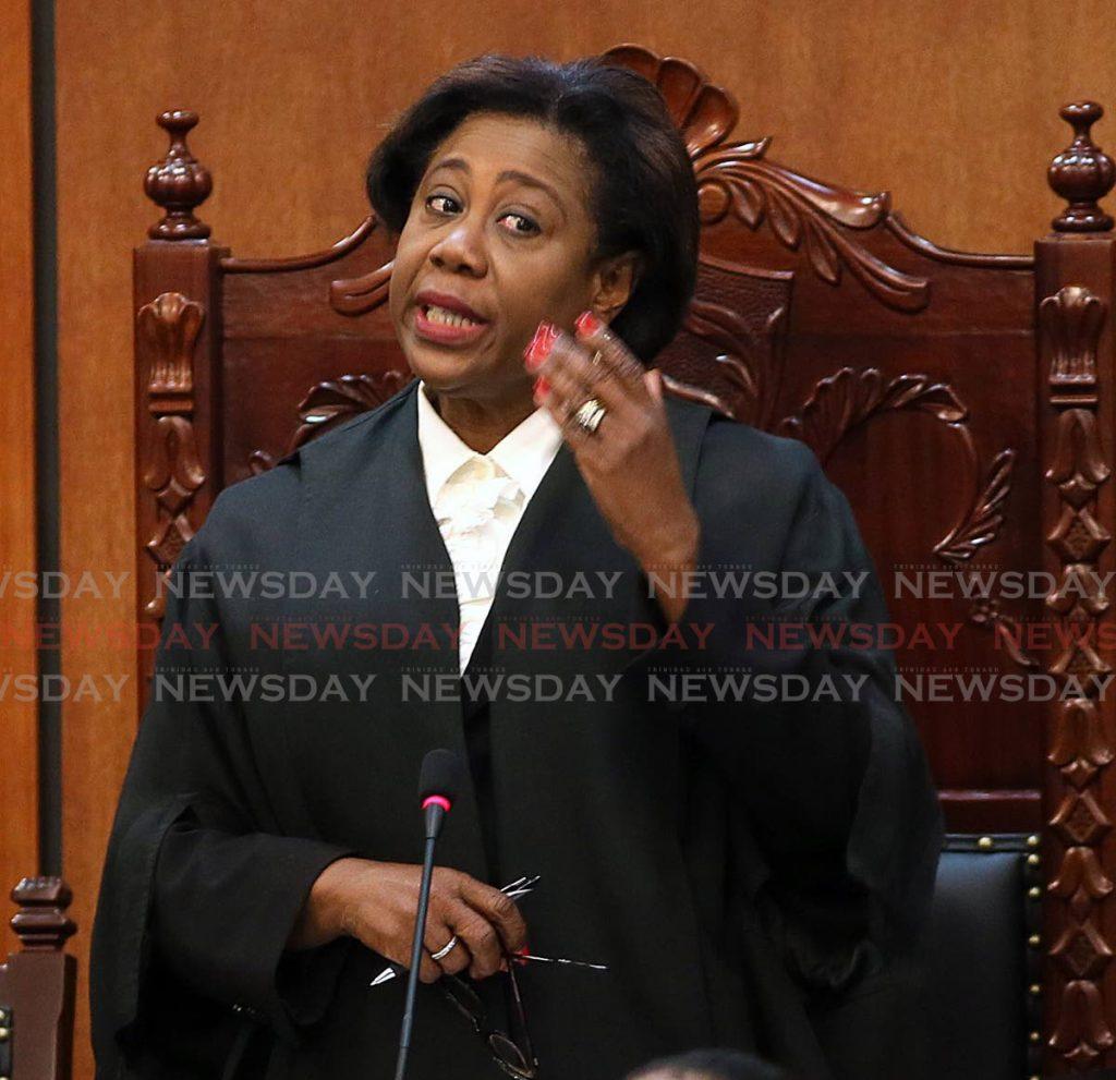 House Speaker Brigid Annisette-George. -