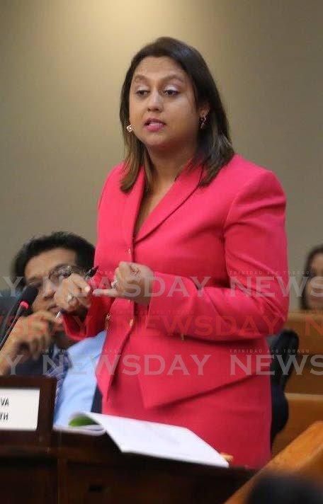 COUVA North MP Ramona Ramdial. -