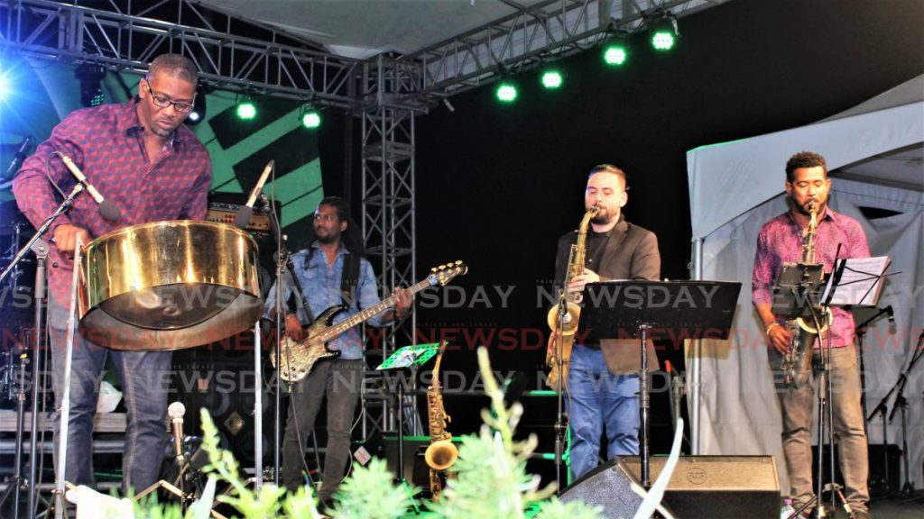 FILE PHOTO Musicians at Jazz Artists on the Greens. -