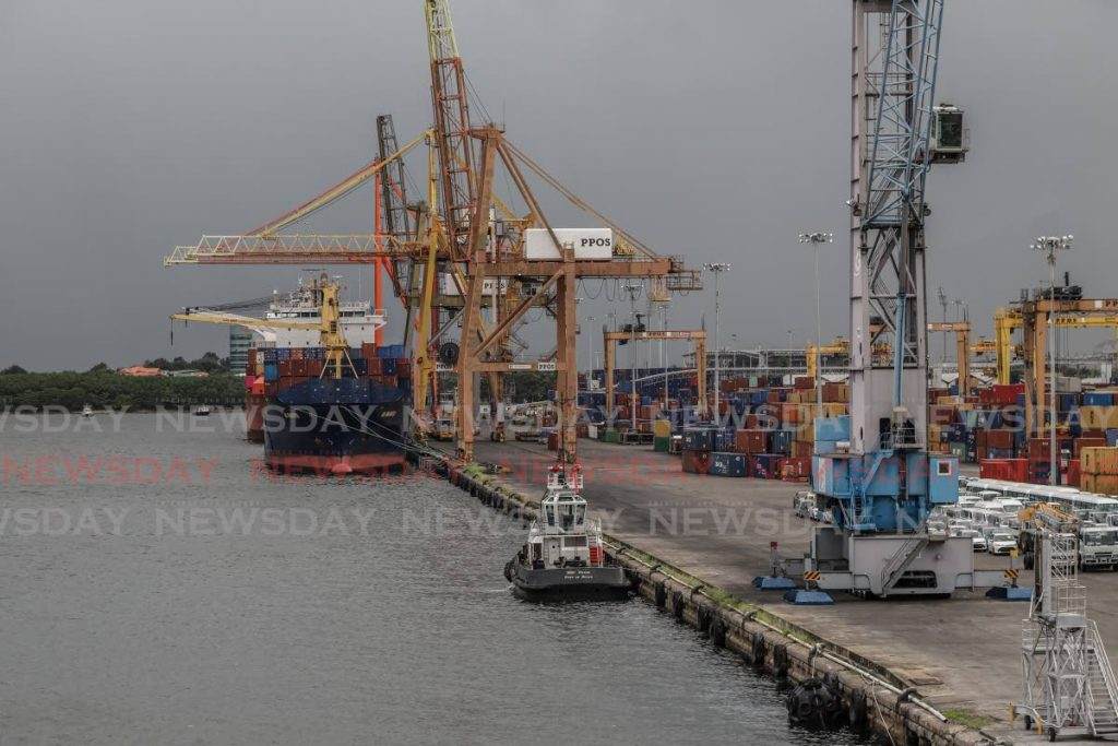 The Port of Port of Spain. Value chain disruption was oene of the initial issues arising out of covid19 for the business community. - FILE PHOTO
