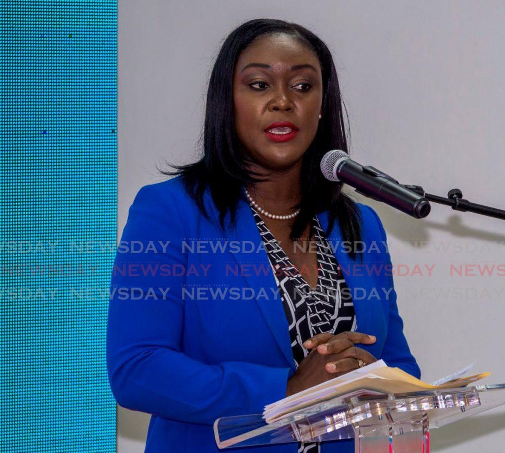 Health Secretary and PNM Tobago Council leader Tracy Davidson-Celestine -