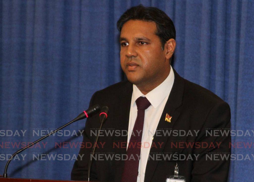 CMO Dr Roshan Parasram. FILE PHOTO -