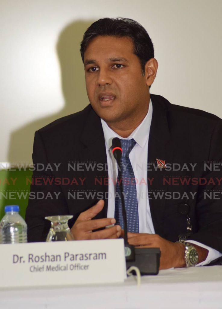 Dr Roshan Parasram -