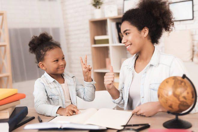 Some children's educational experience is being affected both negatively and positively with the switch to homeschooling. -