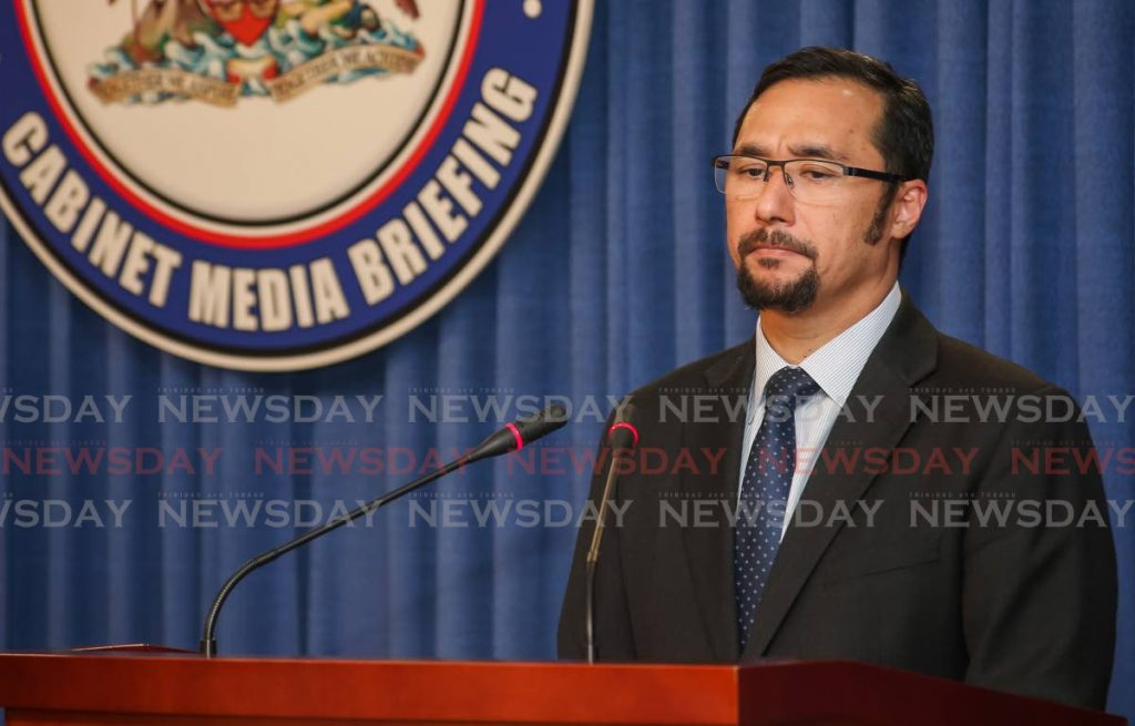 National Security Minister Stuart Young -