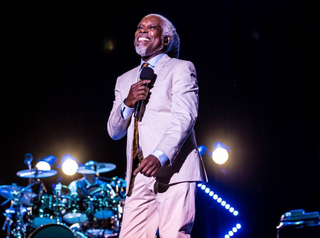 Billy Ocean in performance on his All The Hits tour in Australia in June 2019.  (Photo: Simone Gorman-Clark) -