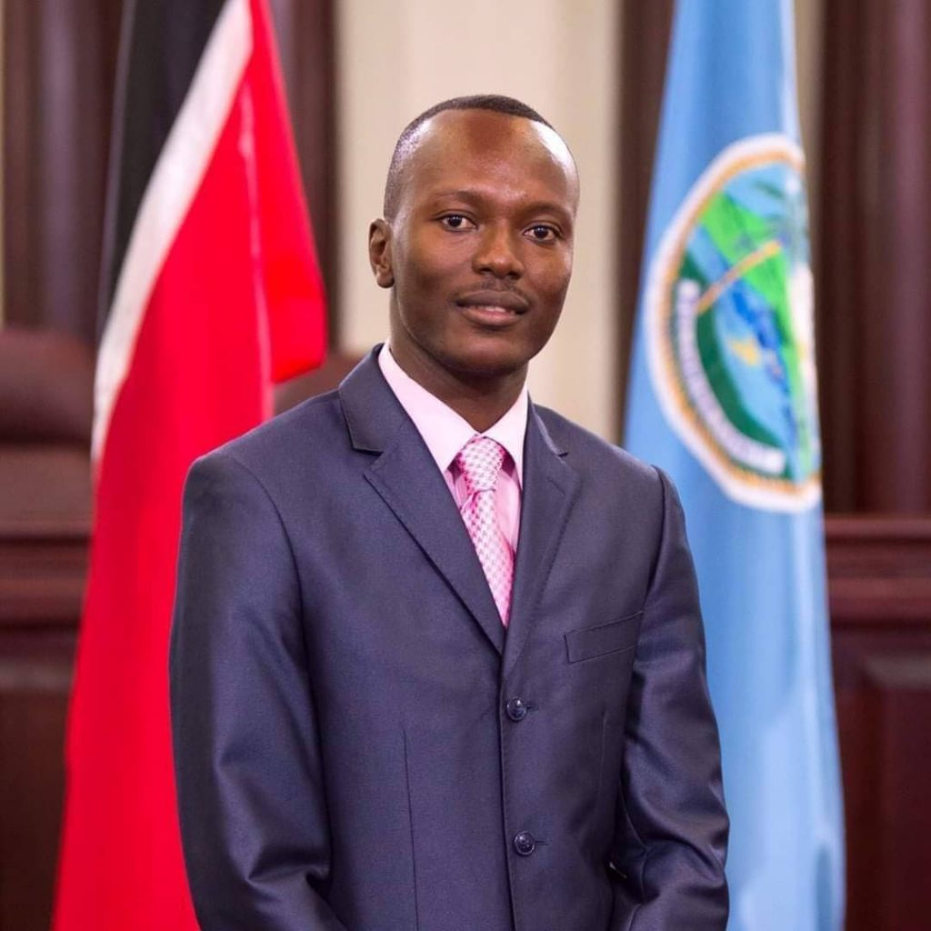 New Chief Secretary of the Tobago House of Assembly Ancil Dennis  -