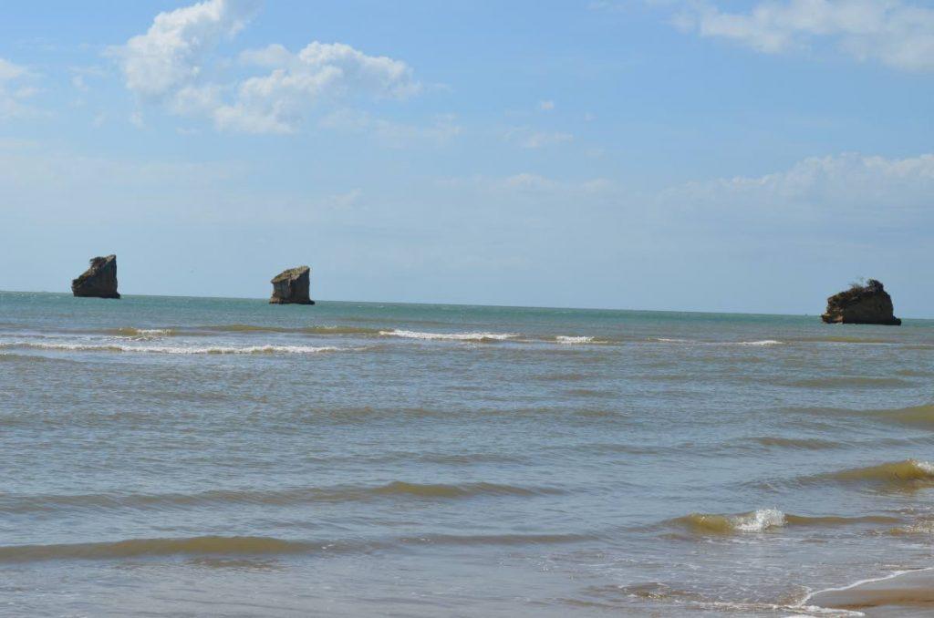 The waters off the southwestern peninsular in Trinidad. - Rahanna Juman