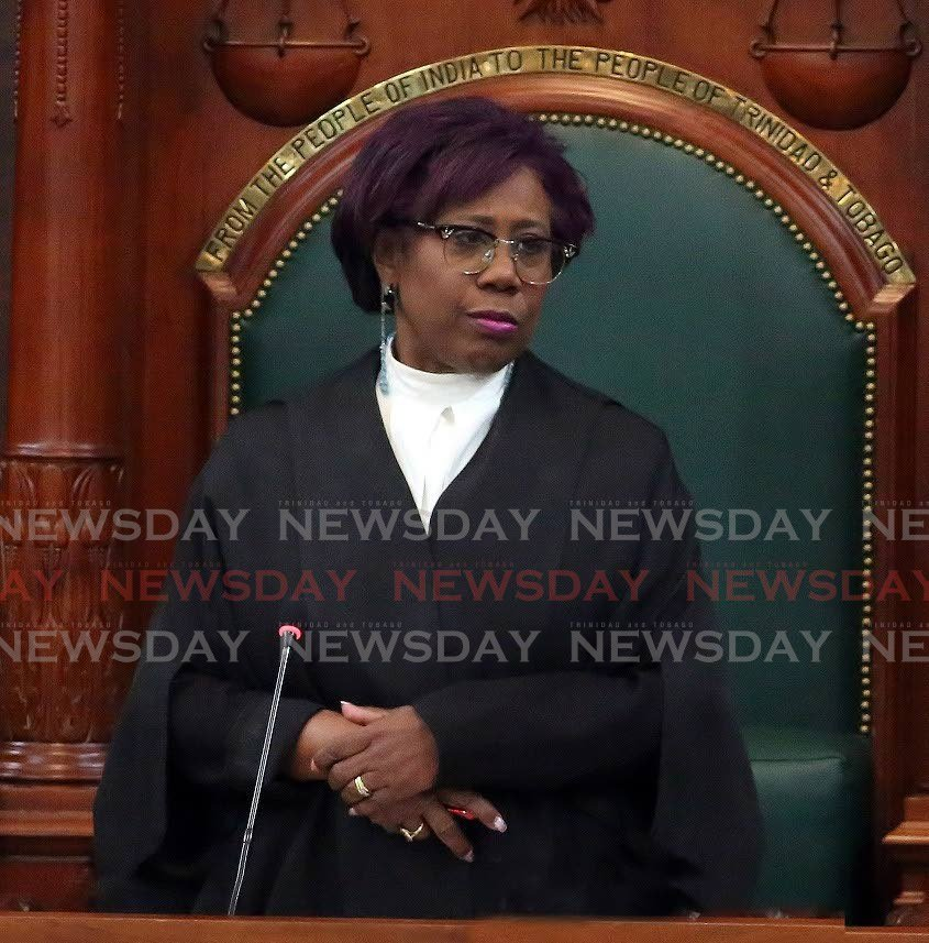 House Speaker Bridgid Annisette-George. -