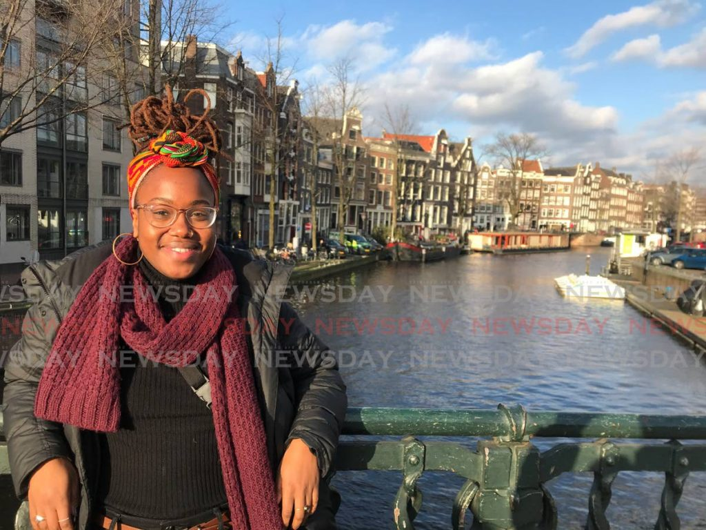 Paige Andrew in Amsterdam during one of her solo travels. Andrew has visited over 23 countries and looks forward to exploring more of the world post-covid19.  - Photo Courtesy Paige Andrew