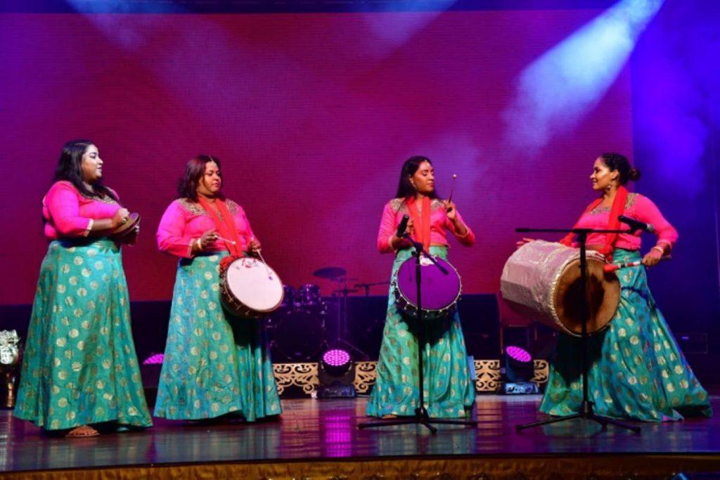 NGC TT Sweet Tassa's all-female tassa band.    -