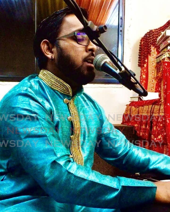 Classical singer Ravi Jagroop will be featured throughout the Ministry of Community Developmetnt, Culture and the Arts's online series commemorating Indian Arrival Day. -