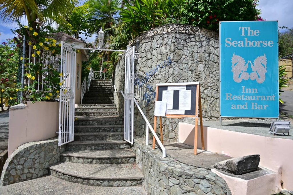The Seahorse Inn, Restaurant and Bar, which opened in Black Rock, Tobago in 1995. - Leeandro Noray