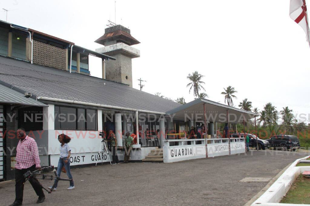 FILE PHOTO The Cedros Security Complex houses immigration officers, police and coast guard officers. -