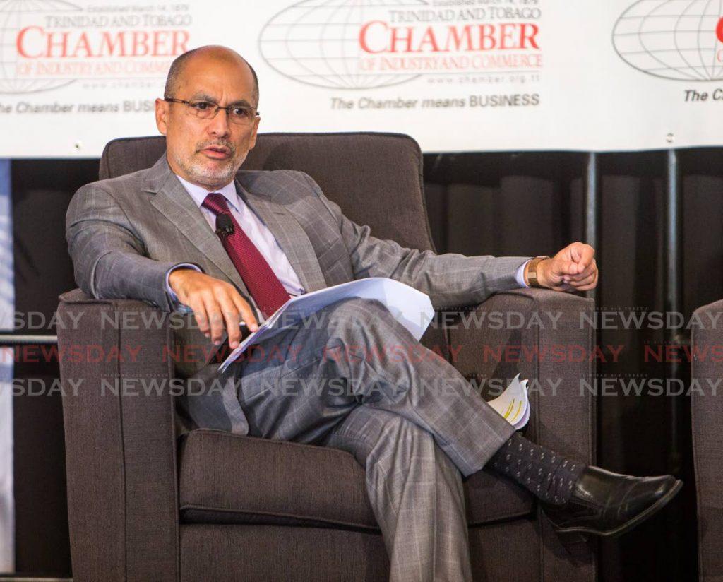 TT Chamber of Commerce head Gabriel Faria. -