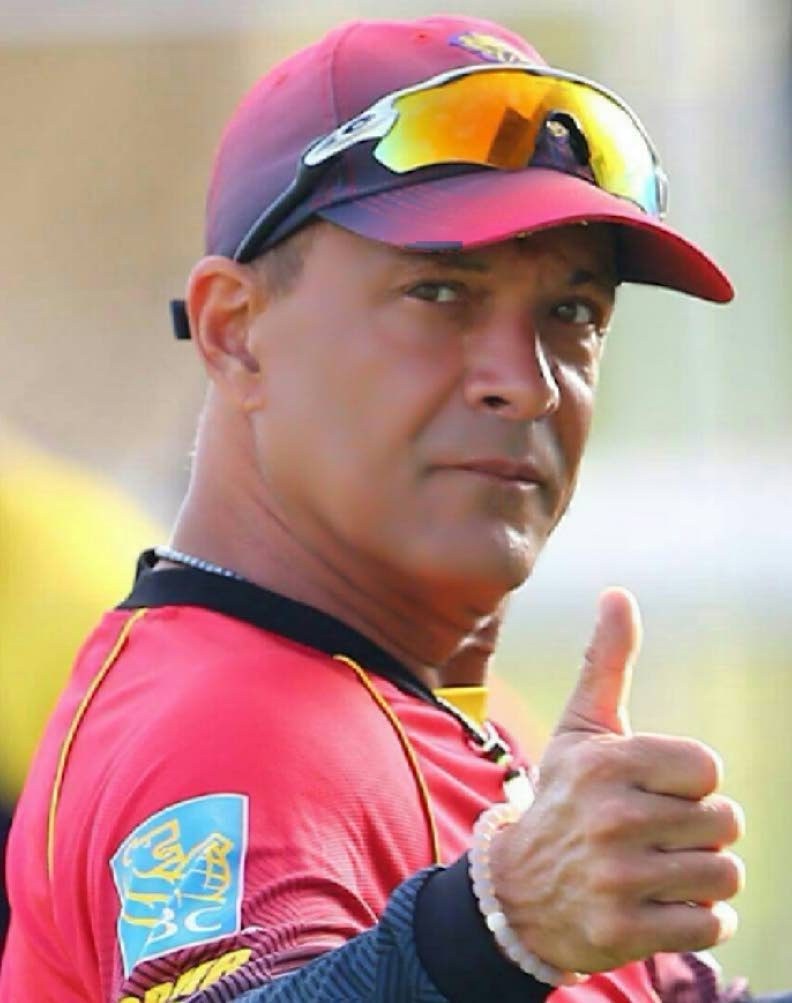 Trinbago Knight Riders manager Colin Borde -