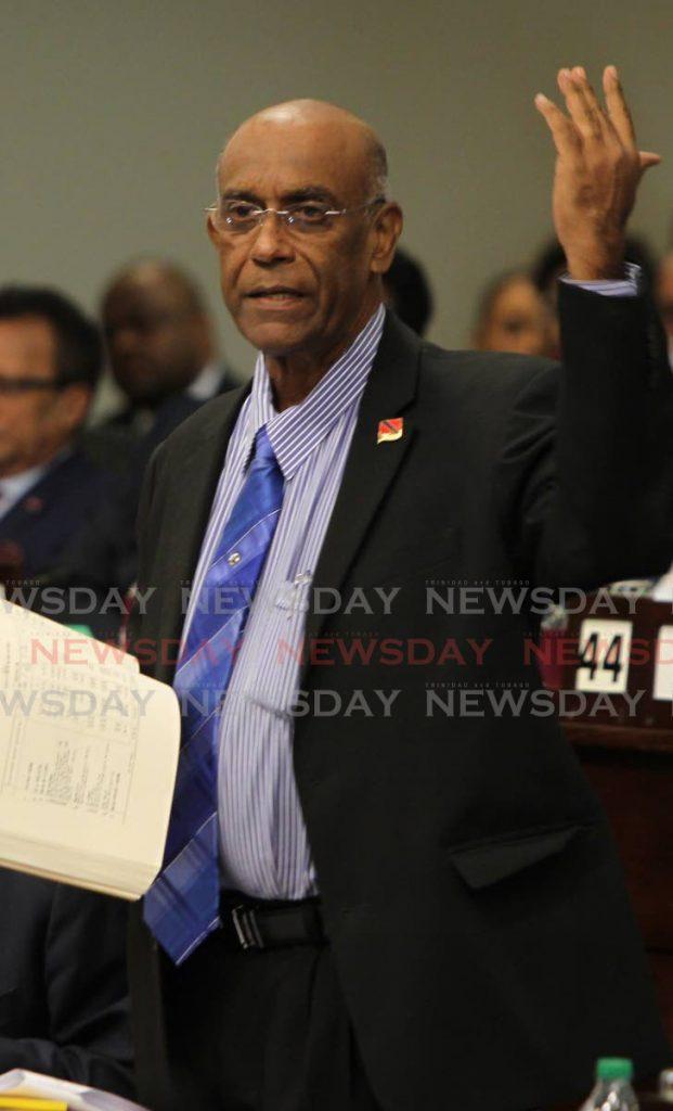 Tabaquite MP Dr Surujrattan Rambachan. -