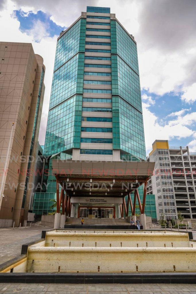 The Board of Inland Revenue building in Port of Spain. TT Chamber CEO Gabriel Faria says the BIR and the Finance Ministry have not responded to the business sector's concerns about income tax payments in light of reduced income because of covid19 restrictions. -