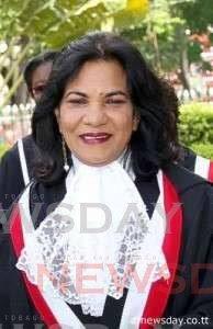 Justice Carol Gobin. -