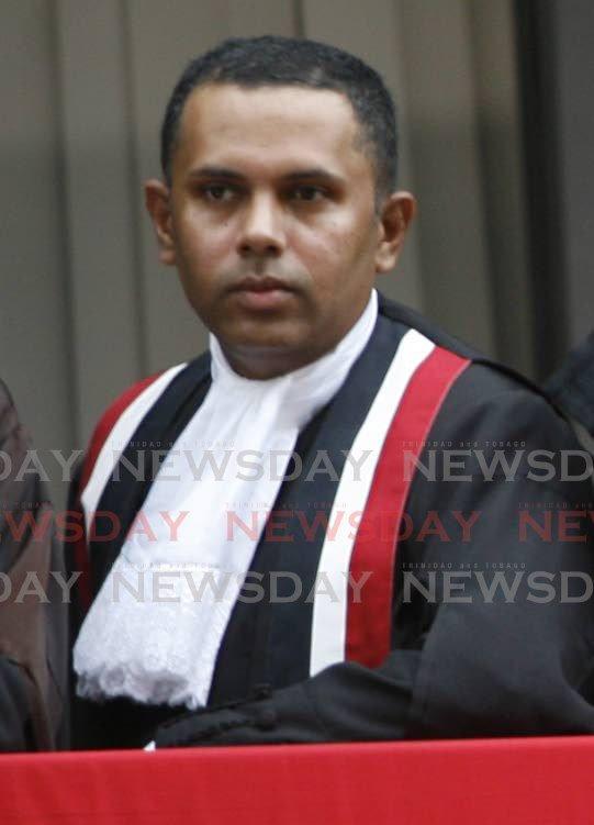 Justice Ronnie Boodoosingh. -