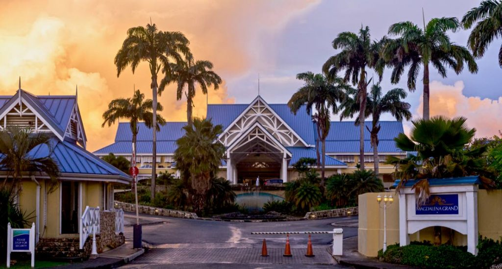 The Magdalena Grand Beach and Golf Resort is one of the premier hotels on the island. Large hotels can access up to $600,000 from the Government's upgrade grant.  -
