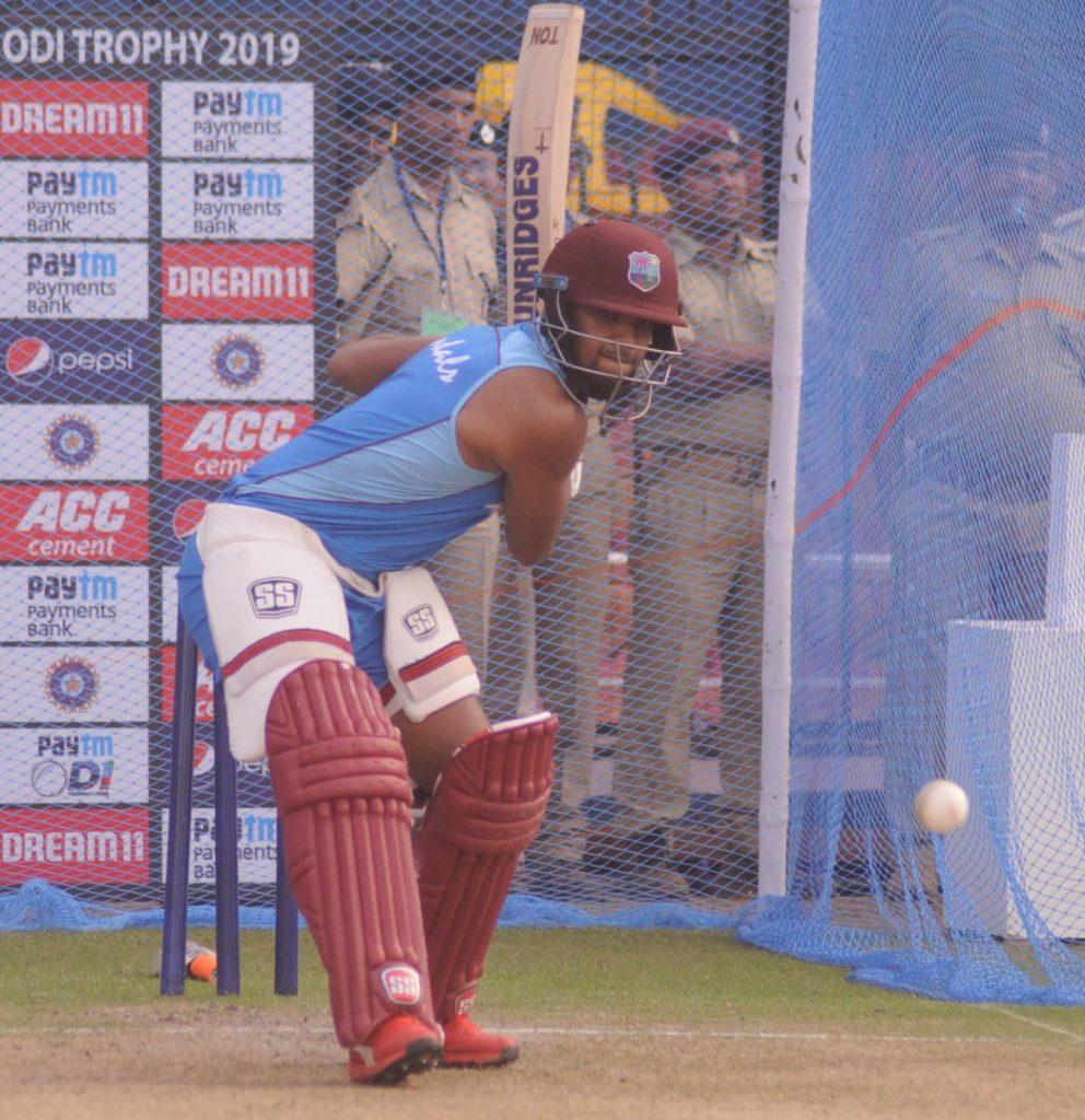 West Indies batsman Nicholas Pooran -