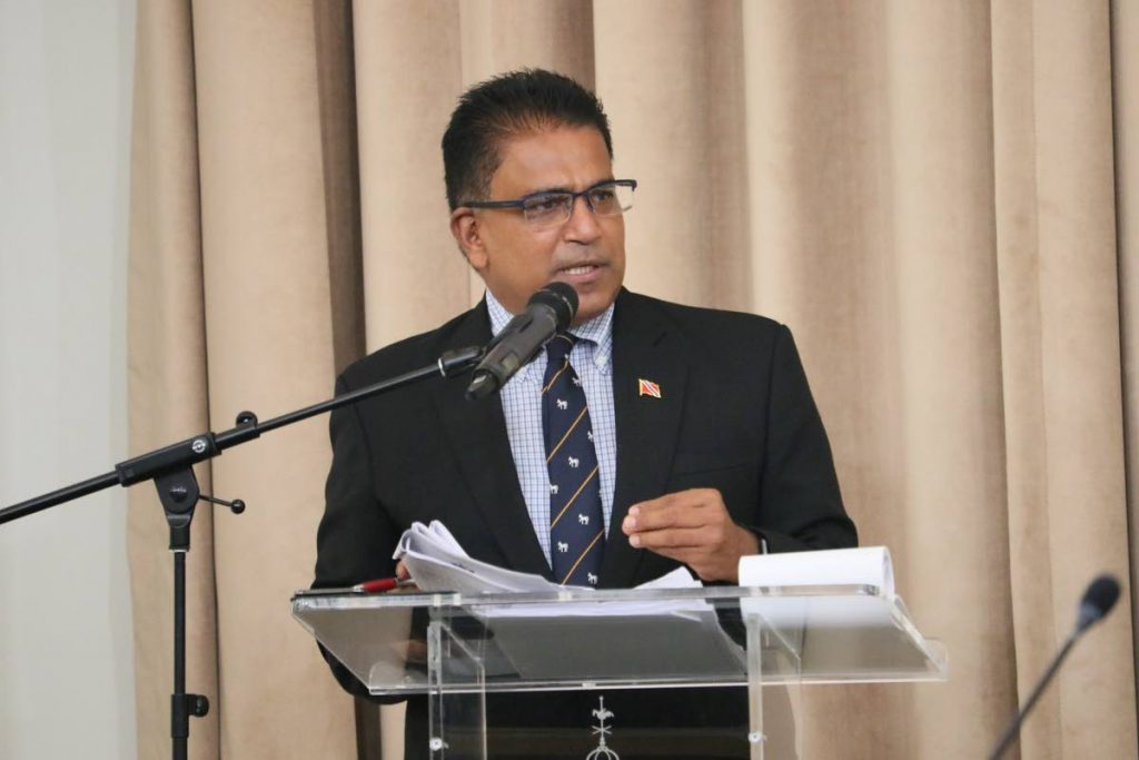 Oropouche East MP Dr Roodal Moonilal Photo courtesy Office of the Parliament  -