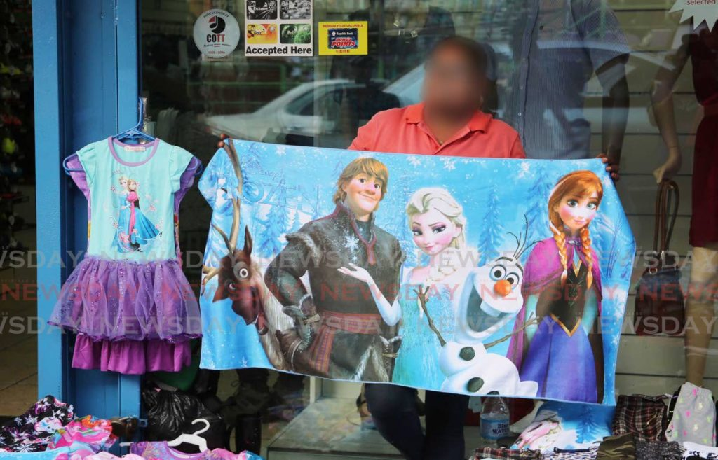 Roger Montero, managing director of Bastion Market Intelligence says the majority of branded clothing which is being sold in TT is either counterfeit or being brought in as contraband. -